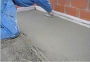 Устройство цементно- бетонной стяжки